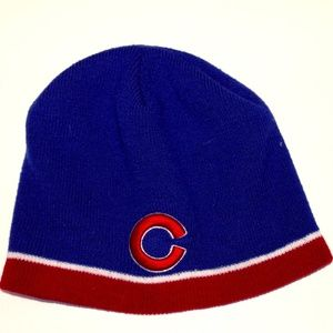 Other - Chicago Cubs Beanie Knit Hat Adult